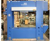 "250 Ton 16"" Stroke Pressmaster HFBP-250/20/MWH H-FRAME HYDRAULIC PRESS, W/20 TON BROA"
