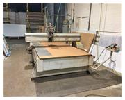 "10"" X Axis 5"" Y Axis MULTI-CAM MG 204 CNC ROUTER, Multi-Cam Cntrl,7.5 HP Colombo"