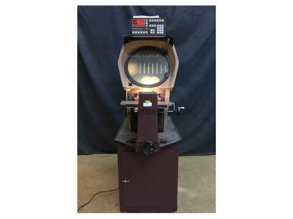 "14"" Screen Scherr-Tumico 20-3500, NEW 2000, QC 2000 w/EDGE DET., OPTICAL COMPARATOR, SURF. ILL., LENS, CABINET, CHOICE OF LENS"