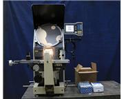 "14"" Screen Nikon H-14B, NEW 1985, ACU-RITE ""VUE"" DRO OPTICAL COMPARATOR, SU"