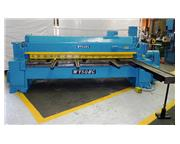 """0.25"""" Cap. 120"""" Width Wysong 1025 SHEAR, Front Operated Powered Back Gauge"""