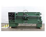 "15"" Swing 60"" Centers Nardini ND1560E ENGINE LATHE, Inch/Metric, Gap, 3-Jaw Buck"