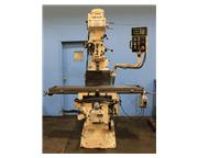 "58"" Table 5HP Spindle Victor JF-5VSL Vari-Speed #40 NST VERTICAL MILL, Vari-Speed,#40"