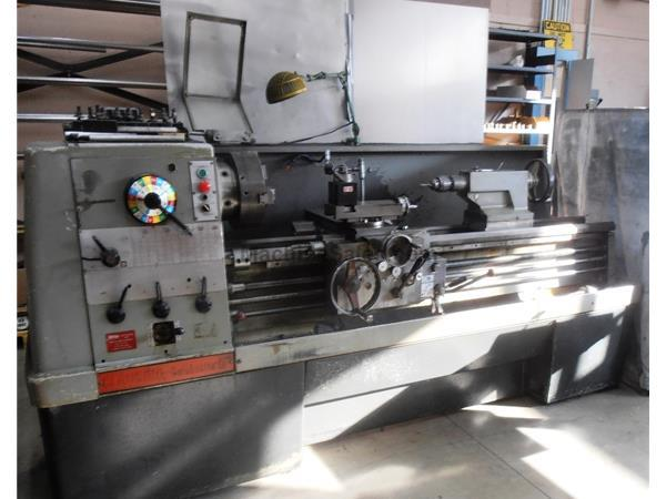 "17"" Swing 60"" Centers Clausing-Colchester 8051 ENGINE LATHE, Inch/Metric Hi-Speed Threading, 3-Jaw, Aloris,10HP"