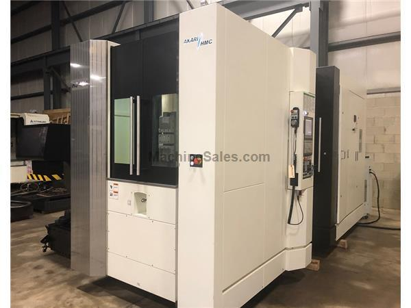 AVEREX (AKARI) HS-450i HORIZONTAL MACHINING CENTER, FANUC CONTROL