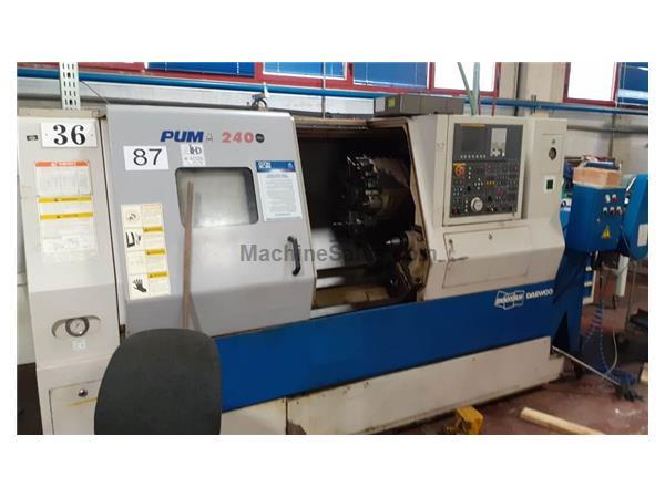 2006 Doosan Daewoo Puma 240C Turning Center
