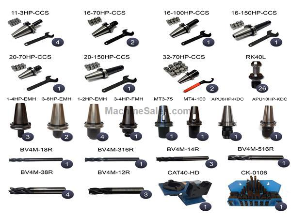 CAT40 HAAS 209 Piece Tooling Package