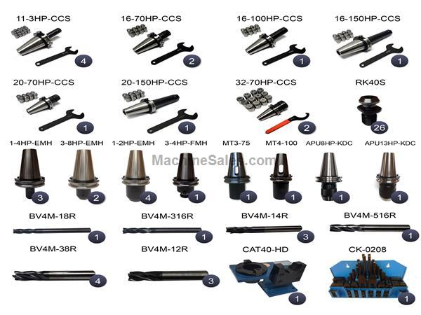 CAT40 HURCO 209 Piece Tooling Package