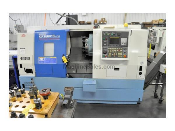 Kia Model Super Kia Turn 15LMS CNC Turning Center