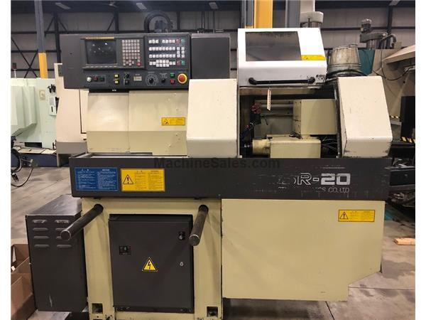 1997 STAR SR-20 SWISS STYLE CNC LATHE, FANUC 16T, 20MM BAR, BARFEED