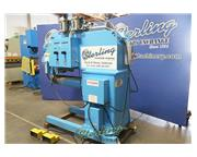 "Peck , weld planisher, 60"" capacity, 44.5"" floor to roller, 38.5"" top of ba"