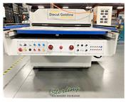 "350 Ton, Diecut UK # GOLDLINE-1300 , 55"" x43"" sheet, clicker press, 2013, #C5164"