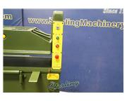 "20 Ton, Clicker Press #MK-520, 2 HP, 18"" x 63"" table., 5.9"" DL, foot pedal,"