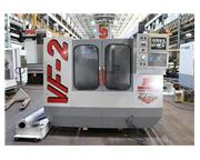 "30"" X Axis 16"" Y Axis Haas VF2 VERTICAL MACHINING CENTER, Haas Control, 20 ATC,"
