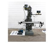 "46"" Table 2HP Spindle Wells-Index 847 VERTICAL MILL, Vari-Speed,R-8, DRO, Servo Pwr T"