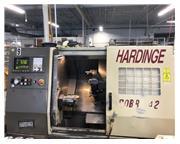 "Hardinge Cobra 42 CNC LATHE, Fanuc 21T, 6"" chuck, tailstock"