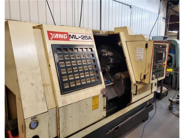 Yang ML-25A CNC Lathe with Fanuc OT Control,