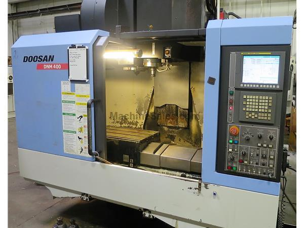 "DOOSAN DNM400 , 17"" X 36"" TABLE, 30""X, 17""Y, 20"" Z"