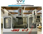 HAAS VF-3 CNC VERTICAL MACHINING CENTER 4TH AXIS