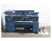 "14"" Swing 40"" Centers Goodway GW1440 ENGINE LATHE, Inch/Metric, 34 Jaw,5C Collet"
