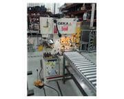 70 Ton GEKA Bendicrop 60S Hydraulic Ironworker, 2015
