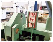 "10 gauge x 5' Betenbender # 5-125 , 13 holddowns, 36"" front operated power back gauge"