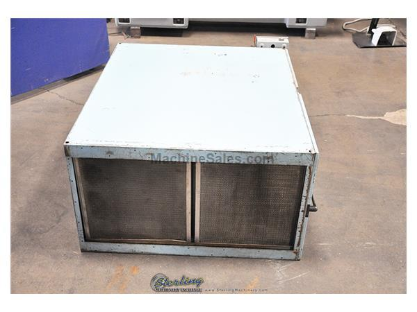 2500 cfm Tepco # 2500B , air cleaner smog eater, cell & ionizer assemblies, fan, housing cabinet, #A3495