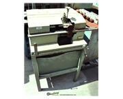 "Falls Edge # 101 , sheet metal deburring machine, 1/4"", cabinet, geared motor, work s"