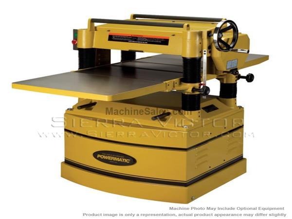 POWERMATIC 209HH-3 Planer 5HP 3PH 230/460V w/Helical Head 1791316