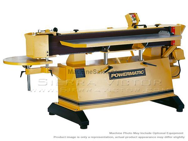 POWERMATIC OES9138 Sander 3HP 1PH 230V 1791282