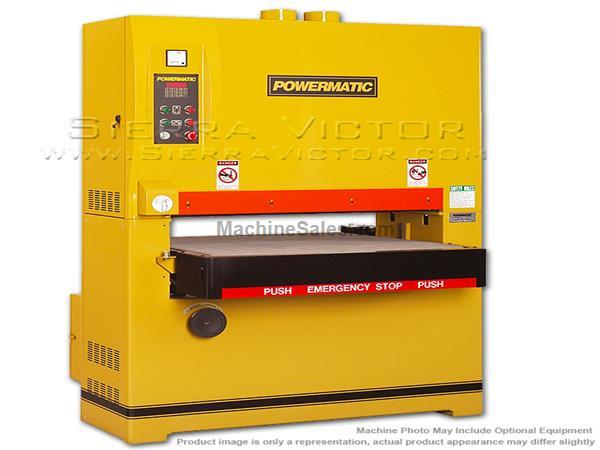 POWERMATIC WB-37 Wide Belt Sander VS 20HP 3PH 230/460V, DRO 1790837