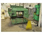 WELLS HORIZONTAL BAND SAW with BAR FEED