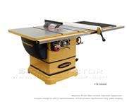 "​POWERMATIC PM1000 Tablesaw w/30"" Accu-Fence System w/Riving Knife 1791000K"