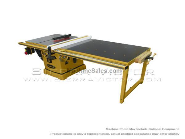 "POWERMATIC PM2000 Tablesaw w/50"" Accu-Fence and Workbench PM23150WK"