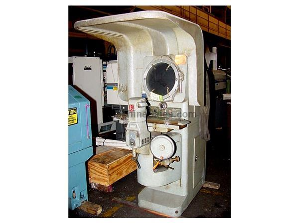 "14"" Screen J  L FC-14 OPTICAL COMPARATOR, FLOOR MODEL, HORIZ. PROJ., NOVALITE, REFLECTION,"