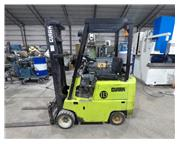 2,750 lb Clark #C500-30 LP Gas Forklift, Side Shift