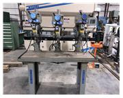 "15"" Clausing 3 Spindle Drill Table"