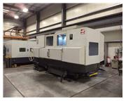 HAAS MODEL EC-2000 4-AXIS HORIZONTAL MACHINING CENTER