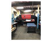 33 Ton Amada Pega 345 CNC Turret Punch, Stock 1120