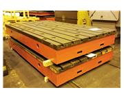 """T-Slotted Floor Plates (1) 78.75""""x 139"""" Cast Iron"""