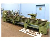 "24"" Swing 144"" Centers Martin DS-60 ENGINE LATHE, Inch/Metric, Gap, 4-Jaw, 2 Ste"