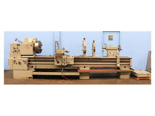"28"" Swing 120"" Centers Tos SN 71 C ENGINE LATHE, Inch/Metric,Gap, 4-Jaw, (2) Steady Rests,"