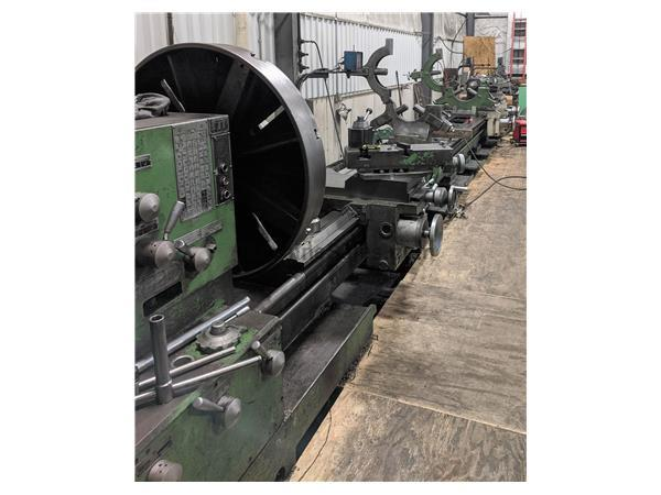 "Poreba TPK 90A1/9M 36"" x 354"" Lathe w/ Twin Carriages"