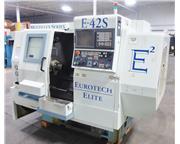 "Eurotech Elite Multiflex Series # E-42S , lathe, sub-spindle,8"" chuck,1.7"" bar,"