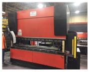 USED AMADA 187 TON X 10' MODEL HFE 1703S 6-AXIS HYDRAULIC DOWNACTING CN