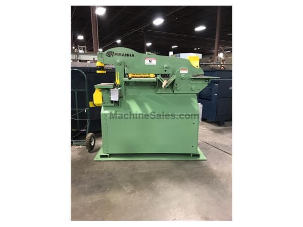 Used Piranha P50 Hydraulic Ironworker