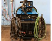 450 Amp Miller Deltaweld 452 ARC WELDER, Series 75 Wire Feeder