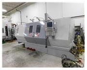 "40"" Swing 89"" Centers Haas SL-40LB Big Bore 55HP CNC LATHE, Haas CNC. 18"" A"