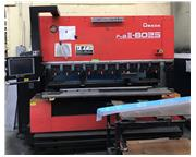 AMADA FBD-III 8025NT 88 Ton 7-Axis CNC Hydraulic Up-Acting Press Brake