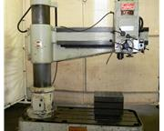 "5' Arm Lth 13"" Col Dia Ikeda RM-1575 RADIAL DRILL, 7.5HP,#5MT, Box Tbl,Power Elevatio"